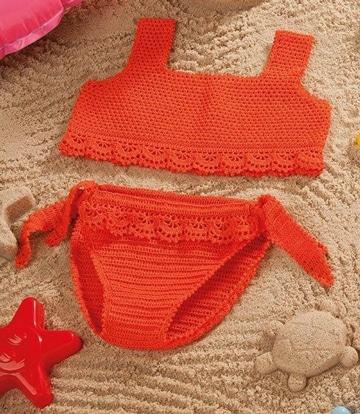bikinis tejidas al crochet faciles