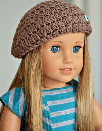 boinas en crochet sencillas infantiles