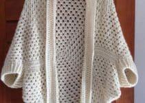 Trendy y versátiles, así son los chalecos tejidos a crochet