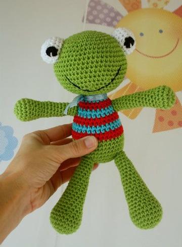 como hacer muñecos de ganchillo para niños