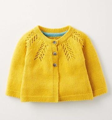 como hacer un jersey de punto para niña