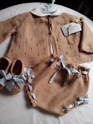 como tejer un jersey infantil