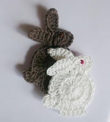 conejos tejidos a crochet faciles