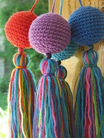 La armon a te inunda con un mar de cosas tejidas a crochet for Decoracion del hogar con crochet