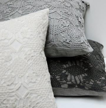 fundas para almohadas decoradas a crochet