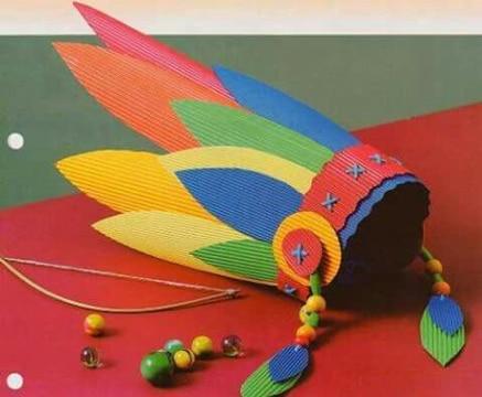 gorros divertidos para niños de carton