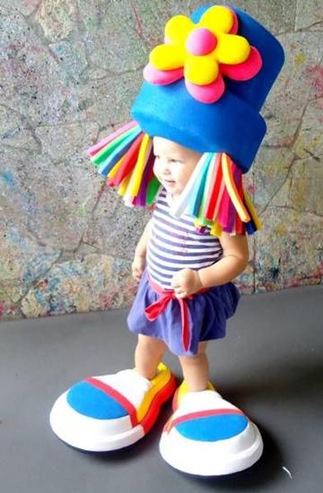 gorros divertidos para niños de colores