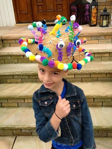 gorros divertidos para niños de fiesta