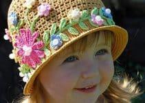 Los gorros para niña en crochet como no los habías imaginado