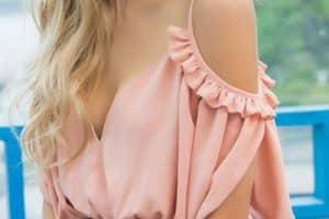 Unas imagenes de blusas cortas para las más exigentes