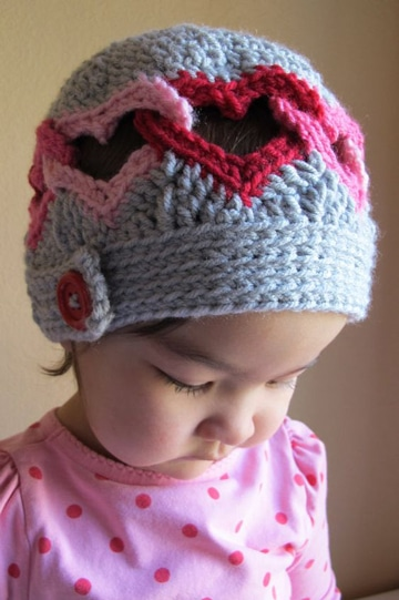 imagenes de gorros tejidos para niñas
