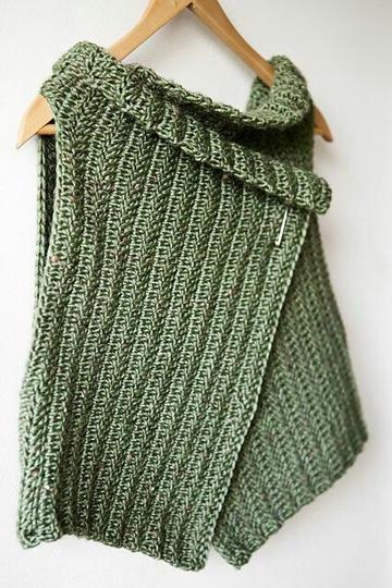 imagenes de tejidos con gancho chaleco
