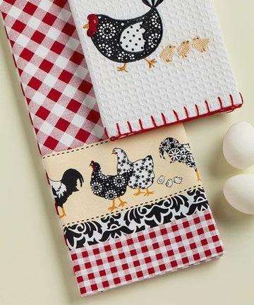 manualidades en crochet para cocina pañitos