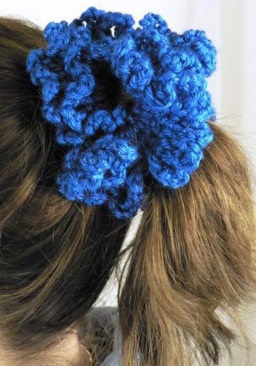 moñeras tejidas a crochet super utiles