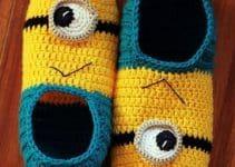 Unas pantuflas a crochet para niños como de película