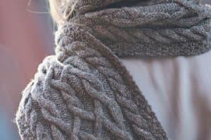 Diseños para todos en puntos de crochet para bufandas
