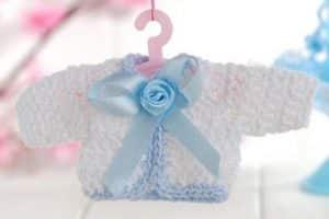 Los recuerdos baby shower a crochet como nunca los olvidarás