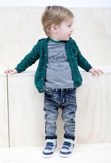 sacos tejidos para niños fashion