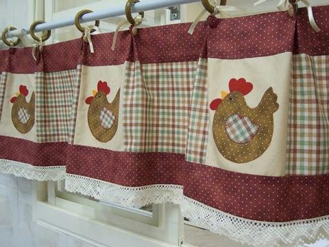 Nuevas telas para cortinas de cocina toda una - Telas de cocina ...