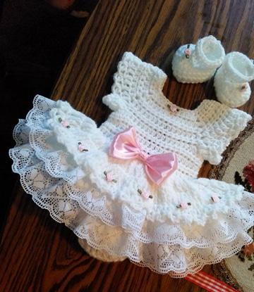 Unos Vestidos Tejidos Para Bebe Que Dan Ganas De Ser Niña