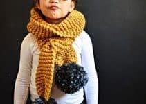 Modelos glamurosos y auténticos de bufandas tejidas de moda