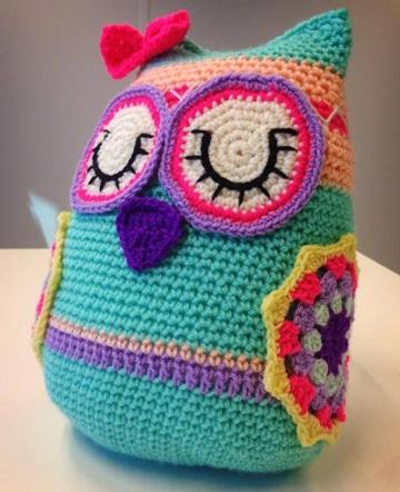 buhos tejidos al crochet para niñas