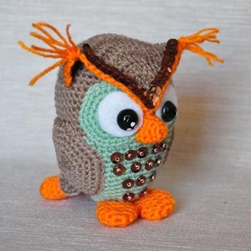 buhos tejidos al crochet pequeños