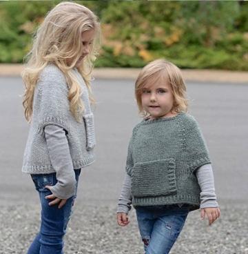 chalecos de niños tejidos a palillos muy coquetos