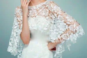 Alternativas modernas de chales de ganchillo para bodas