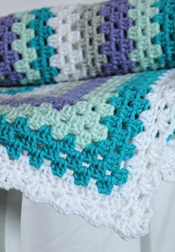 colchas de crochet modernas juveniles