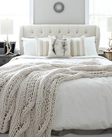 colchas de crochet modernas y comodas