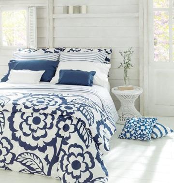colchas para camas de matrimonio florales