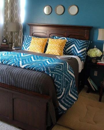 colchas para camas de matrimonio modernas