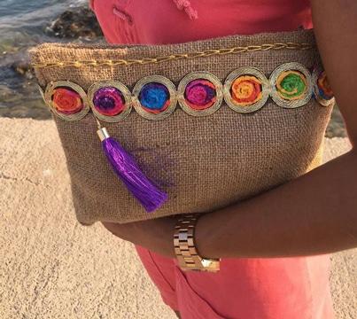como hacer carteras y bolsos de mano