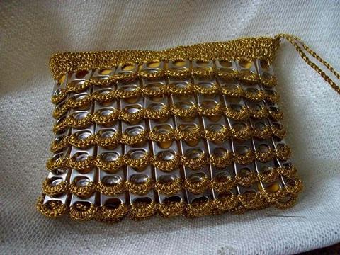 como hacer carteras y bolsos reciclando