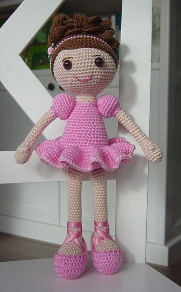 como hacer muñecos a crochet infantiles