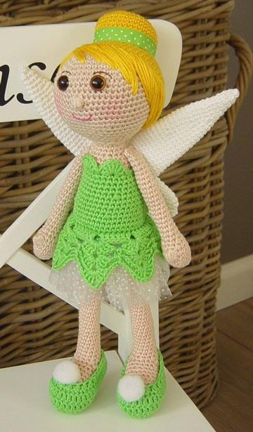 como hacer muñecos a crochet para niñas