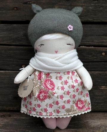 como hacer ropa para muñecas a mano super lindas