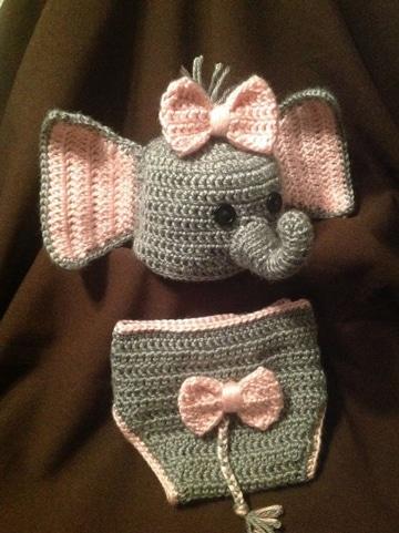 disfraces para recien nacidos de elefante