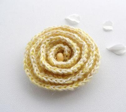 escarapelas tejidas al crochet faciles