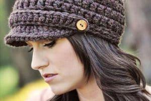 Tipos de gorras tejidas a crochet para mujer que no imaginas