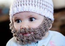 El disfraz para chicos y grandes con gorros tejidos con barba