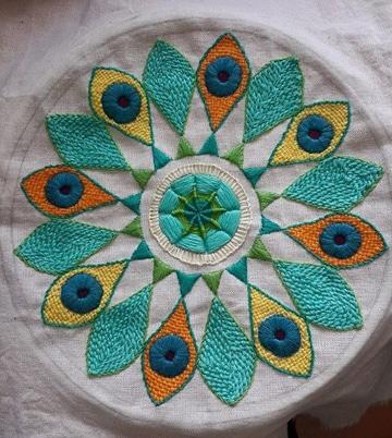 imagenes de tejidos de lana con colores
