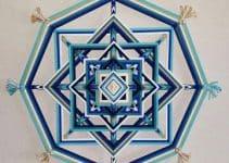 Los mandalas de lana paso a paso en el diseño de espacios