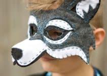 Unos moldes de mascaras de animales que te sacarán de apuros