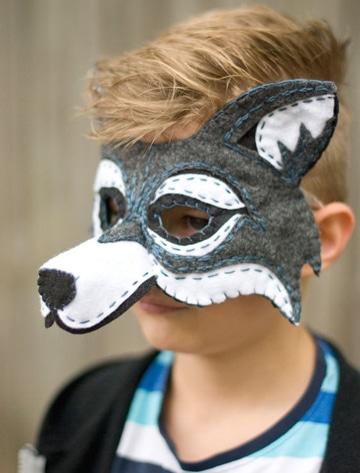 moldes de mascaras de animales para niños