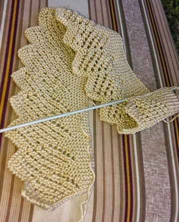 patrones de puntillas a crochet para mantillas