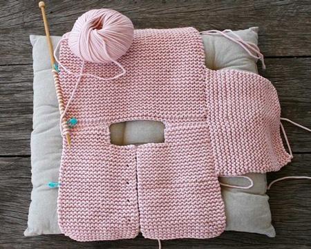 sacos para bebe en crochet tutorial