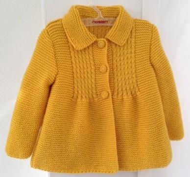 sacos tejidos para niña a crochet