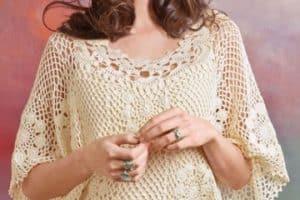 Diseños de blusones tejidos a gancho para mujeres con estilo